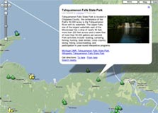 Travel Local Michigan State Parks Map Absolute Michigan