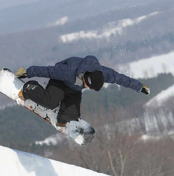 Boarder at Boyne courtesy Boyne Mountain