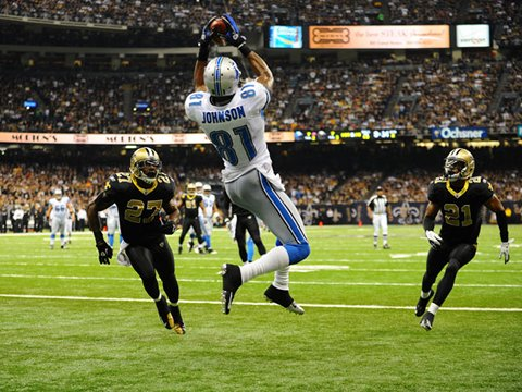 Calvin Johnson TD - photo by Gavin Smith / DetroitLions.com