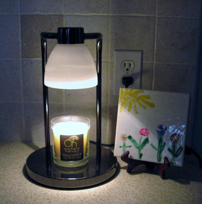 Orchard Harvest Candle Warming Lamp